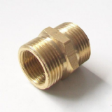 Brass 5/8 inch BSP Hose Union Adapter Nipple - 58093068